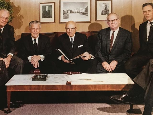 5 business men who work at Black and Veatch in the 1950s