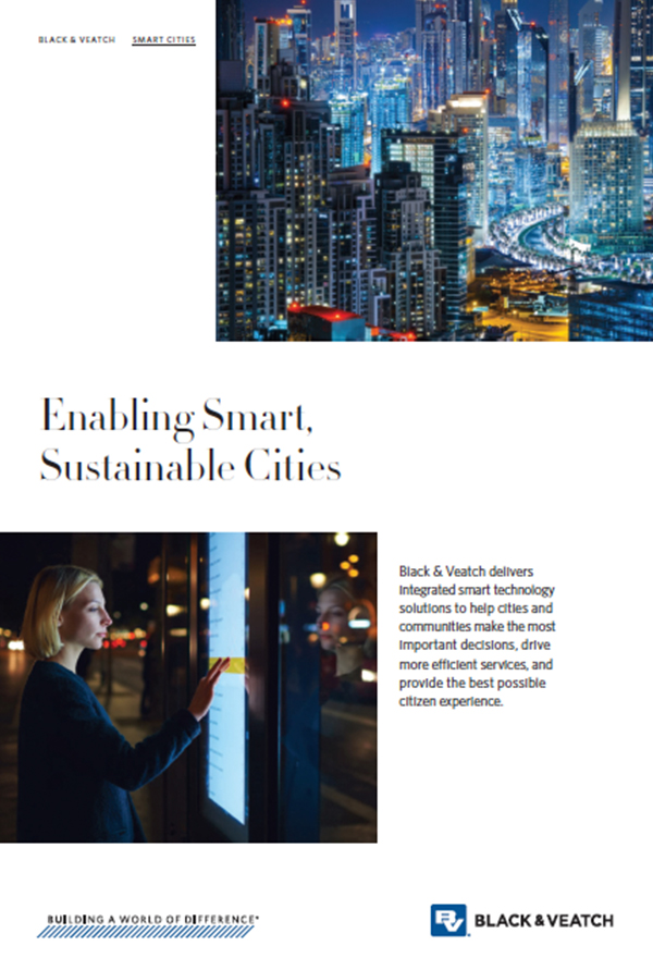 Enabling Smart, Sustainable Cities