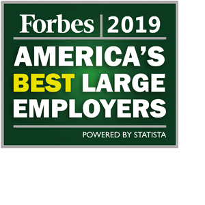 2019 Forbes Best Large Employers