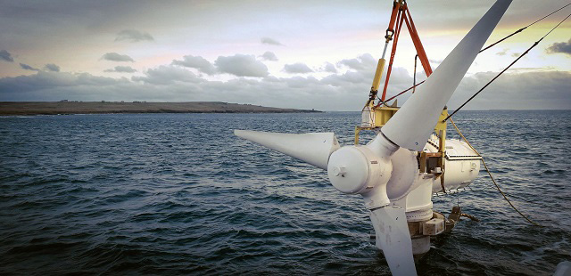 Maturation of tidal energy: Pentland array leads the way