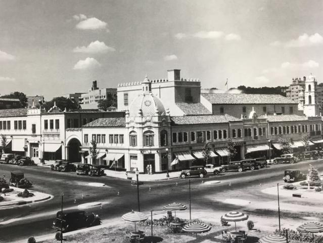 town in the 1930s