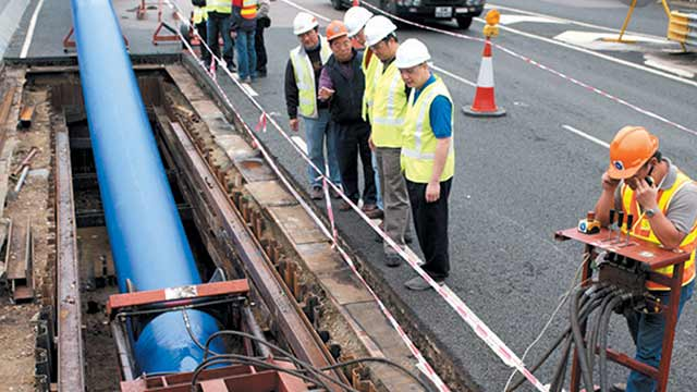 Black & Veatch Uses Innovative Technology for Water Main Rehabilitation in Hong Kong