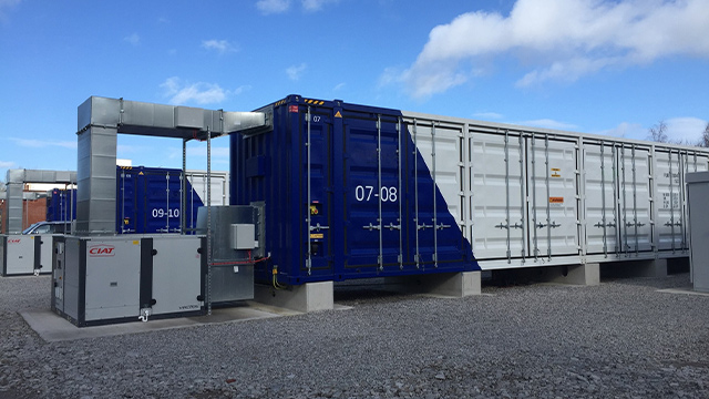 120 MW battery energy storage programme