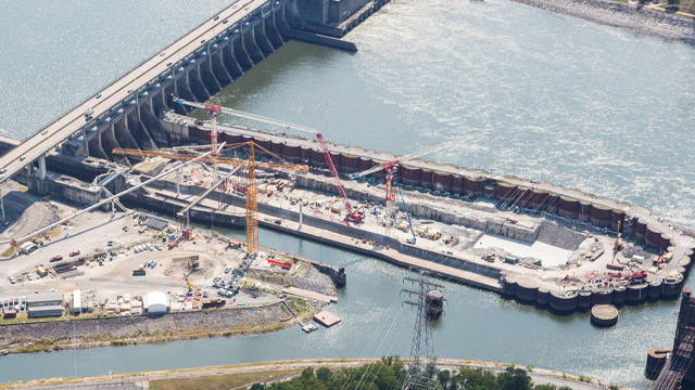 Chickamauga Lock & Dam, Electrical Mechanical P&S