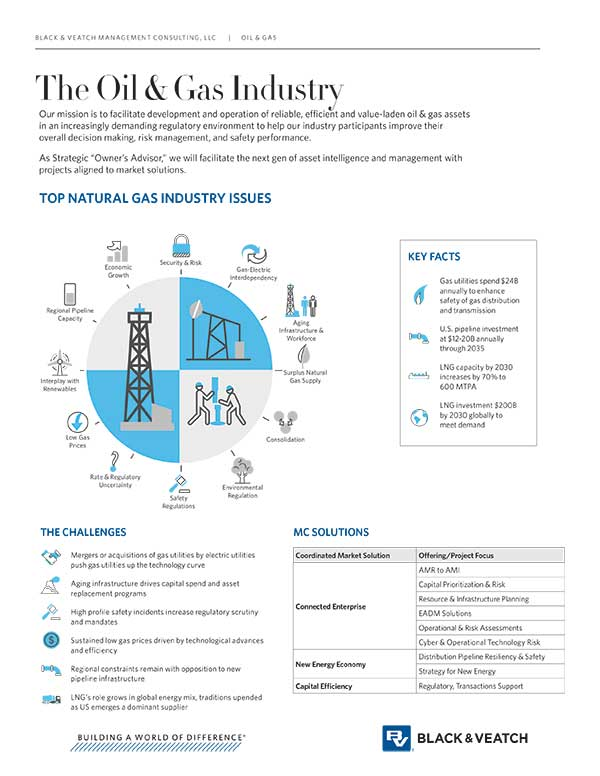 Black & Veatch Management Consulting - Oil & Gas Industry Offerings