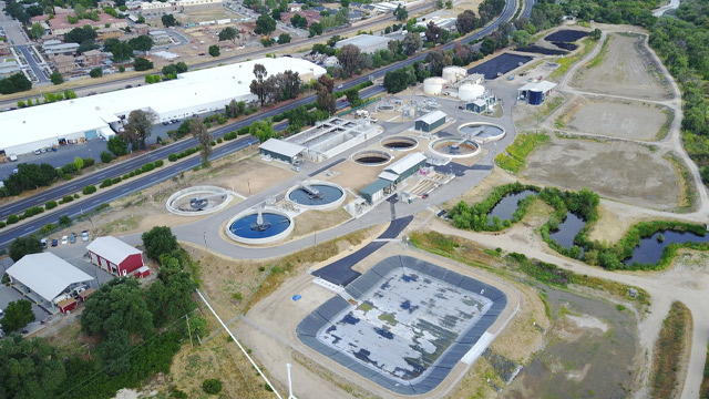 Paso Robles Wastewater Treatment Plant