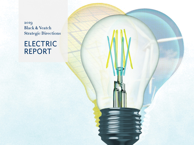 2019 Black & Veatch Strategic Directions: Electric Report Cover